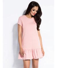 Dursi Dámské šaty DRESS POWDER PINK ce9b84c274