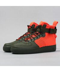 Nike SF AF1 Mid QS cargo khaki   total crimson e92f23d73a