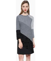 Desigual šaty Amber šedé 17WWVK50 59397628692