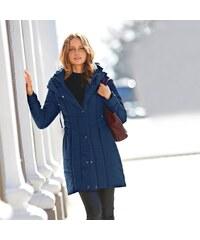 c609801103 Modré Dámske kabáty z obchodu Vypredaj-zlavy.sk - Glami.sk