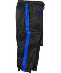 Blancheporte Športové nohavice z česaného mikrovlákna čierna modrá 627d04cbe01