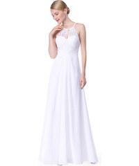 Ever Pretty dámské plesové a společenské šaty bílá c62c05570d