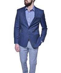 d3d563e92b Ombre Clothing Pánske sako Jacques modré - Glami.sk