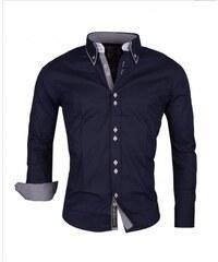 bfc3b315c7c Pánská košile s dlouhým rukávem Carisma tmavě modrá Rusty Neal 8260