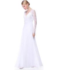 dda53f11c82 Ever Pretty dámské plesové a společenské šaty 89EV bílá