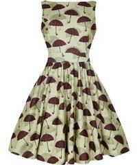LADY VINTAGE Dámské retro šaty Tea Úsměv pod deštníkem ea703a4f90