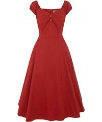 COLLECTIF Dámské retro šaty Trixie Doll červené - Glami.cz f204e1ce75