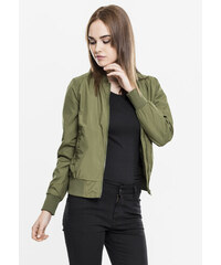 Dámska bombera Urban Classics Ladies Light Bomber Jacket olive e07ad2867f4