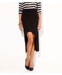 18f454314ff2 Vypredaj-zlavy.sk Asymetrická sukňa čierna