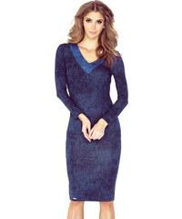 6fdcae931877 Šaty dámské MORIMIA 020 1 navy blue jeans