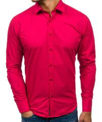 49d161ea6c43 Pánská košile BOLF 1703 koralová