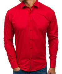 83b8782e5ea Pánská košile BOLF 1703 červená