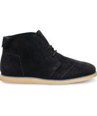 835fef2e941 Černé dámské kotníkové boty TOMS Mateo Chukka 5