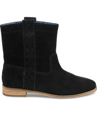 a827a0e6526 TOMS Black Suede Women s Laurel Boot 5