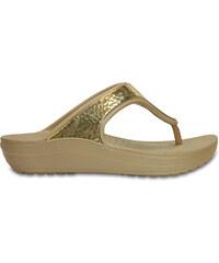 Crocs Crocs Sloane Embellished Flip - Gold Metallic W7 - vel.37 f5b88339a9