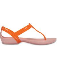 Crocs Crocs Isabella T-strap - Active Orange Petal Pink W6 - vel. 8f613dceb9