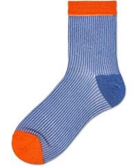 Dámské červeno-zelené ponožky Happy Socks Jill    kolekce Hysteria ... 829f4a96cd