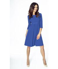 Tmavě modré šaty koktejlky s dopravou zdarma - Glami.cz ee47a1b052f