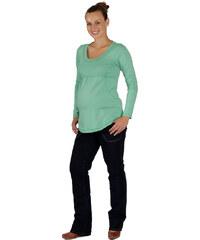 Těhotenské tričko Rialto BORVEMORE zelené 0071 152c779aa6