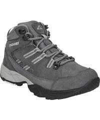 Šedé kožené dámské outdoorové boty - Glami.cz ac2c505ad0