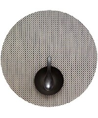 chilewich basketweave rund platzset 4er set. Black Bedroom Furniture Sets. Home Design Ideas