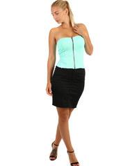 3c29d967b6ff YooY Dámská pouzdrová sukně - i pro plnoštíhlé