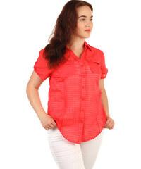Jednofarebné Dámske blúzky a košele z obchodu GLARA.sk - Glami.sk 4afeb757864