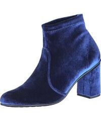 O1301, Bottines Femme, Bleu (Blue Velvet 03VL-W/BL), 38 EUNR Rapisardi