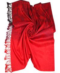 1f7470a1e28 Červené dámské šály a šátky