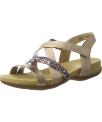 Ricosta Marie, Sandales Bout Ouvert Fille - Rose - Pink (Blush), 31 EU