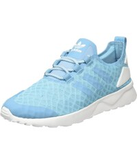 adidas ZX Flux, Sneakers Basses Femme, Bleu (Night Sky/FTWR White/Frozen Green), 38 EU (5 UK)