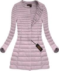 Kolekce Libland růžové kabáty na zip z obchodu Womanly.cz - Glami.cz 36d5b23c74
