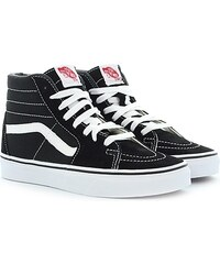 Vans Sk8-hi Slim Zip, Baskets Mode pour Homme - Noir - Black (Croc Leather - Black), 38.5