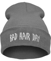 9fd9a3968f1 Cixi Šedá čepice Beanie BAD HAIR DAY