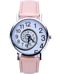 Shim Watch Dámské hodinky Spiral růžové 2dff22f6ab