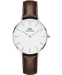 Dámske hodinky s hnedým remienkom Daniel Wellington Bristol b4eb3f98f0b