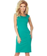 NUMOCO Luxusné tmavo zelené šaty CHARLOTTE 200-6 - Glami.sk 901e838a2f5