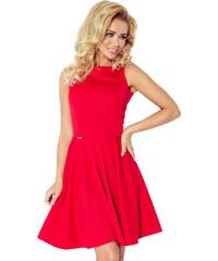 Numoco Elegantné šaty červené 1-169 - Glami.sk 6eb9818b6a2