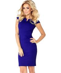 bc071aa6bb8a NUMOCO Elegantné modré šaty 132-1