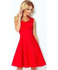 NUMOCO AKCE - Dámské červené retro šaty 30-18 99c4ccf030