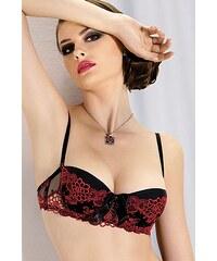 Podprsenka Gracya 186 - výprodej, černá - červená