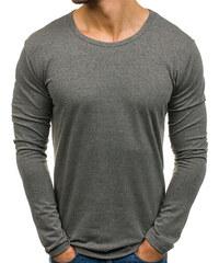 Šedé pánské tričko s dlouhým rukávem a potiskem Bolf SX029 - Glami.cz 7af2b9a37c