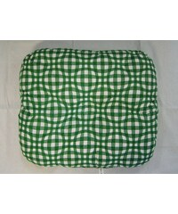 Dadka Zahradní sedák Kostka zelená 40x50 cm