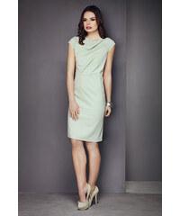 Šaty la`Aurora M023, zelená - světle