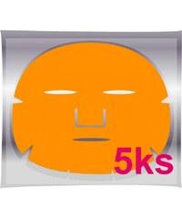 BRAZIL KERATIN Golden Mask - pleťová maska na obličej proti vráskám 5ks