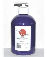 HELEN Šampon Stříbrný šampon 500ml proti žlutému nádechu u melírovaných a blond vlasů