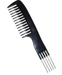 DUKO Hřebeny Vyčesávací hřeben na vlasy profi - 5 kovových hrotů