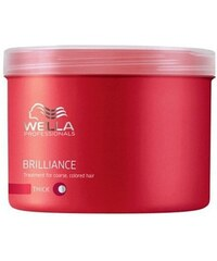WELLA Care3 Brilliance Color Treatment Thick kůra pro silné barvené vlasy 500ml