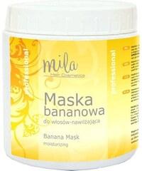 MILA Hair Cosmetics Banana Mask Moisturizing maska na suché a poškozené vlasy 1000ml
