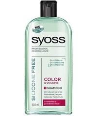 SYOSS Professional Silicone Free Color Shampoo - šampon bez silikonů pro ochranu barvy 500ml
